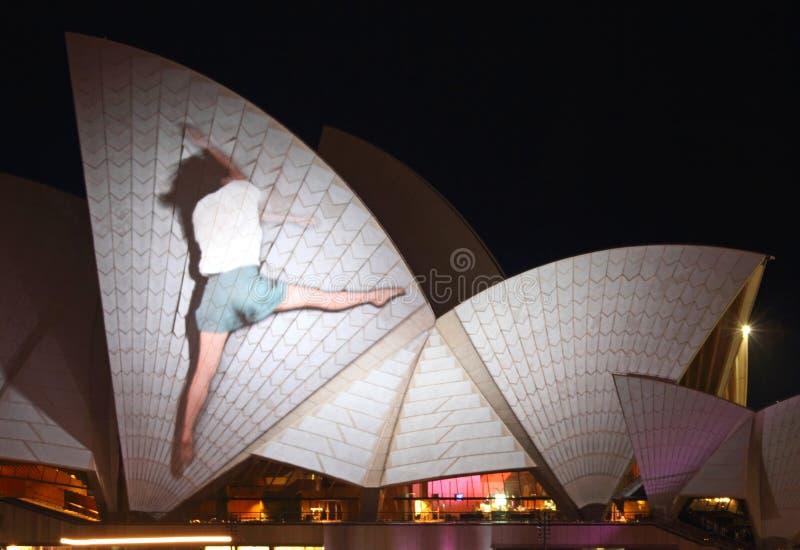 Sydney Opera House On Vivid Sydney Editorial Photo