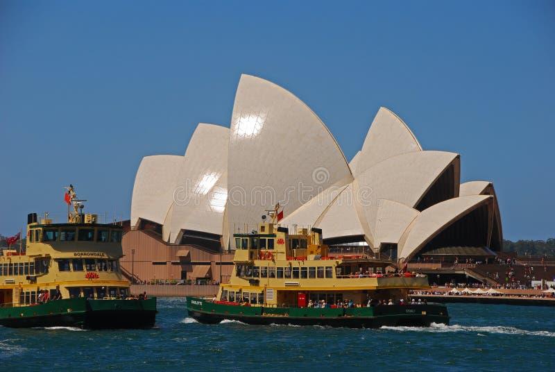 Sydney operahus arkivfoto
