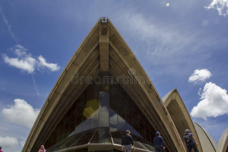 Sydney operahusdetalj arkivbild