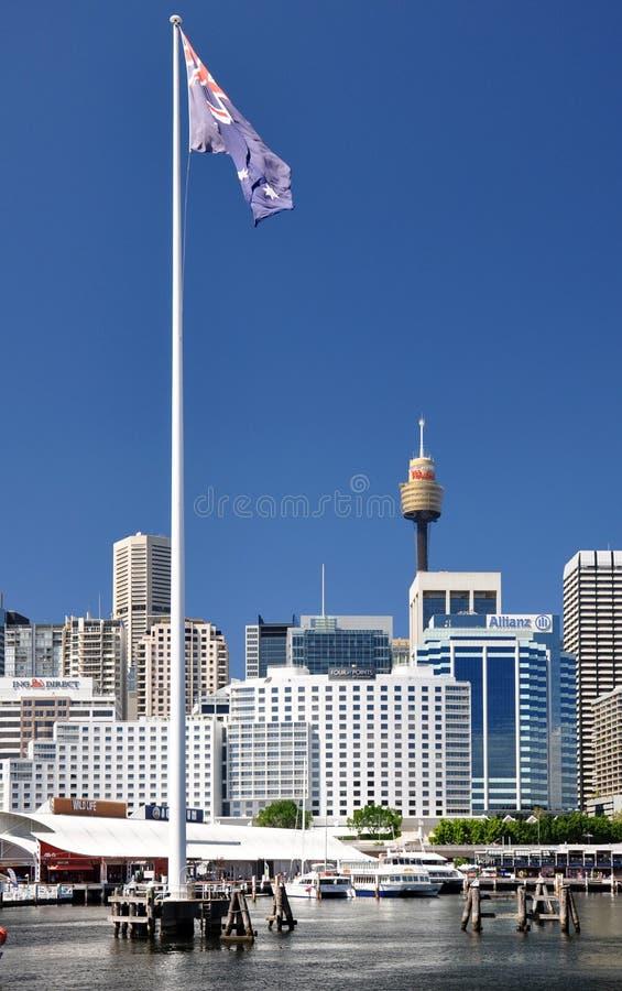 Sydney Panoram arkivfoton