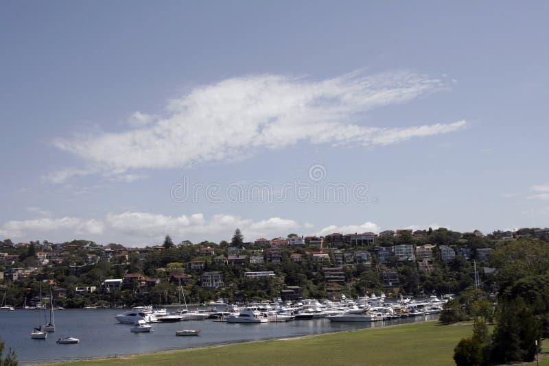 Sydney przedmieścia fotografia stock