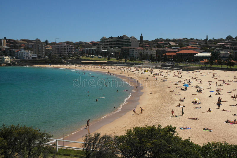 Sydney's Coogee Beach royalty free stock photo