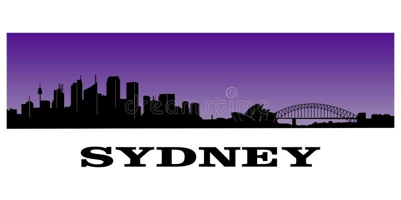 Sydney's skyline vector illustration