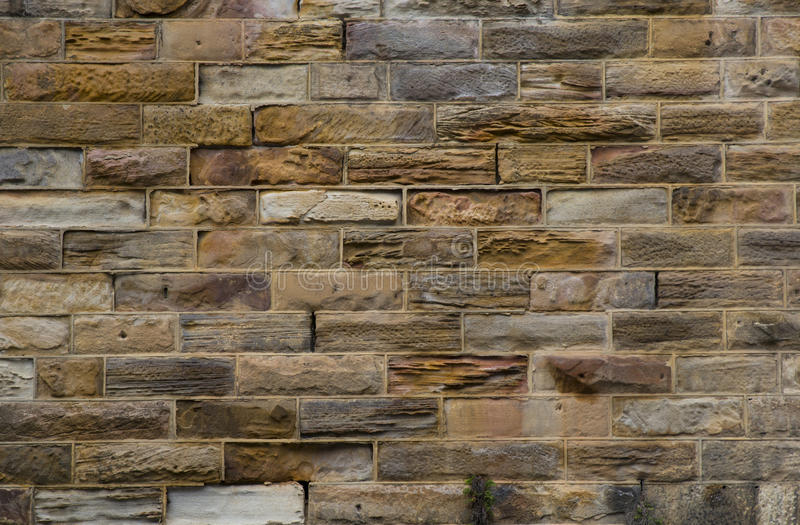 Sydney Sandstone Wall lizenzfreies stockbild
