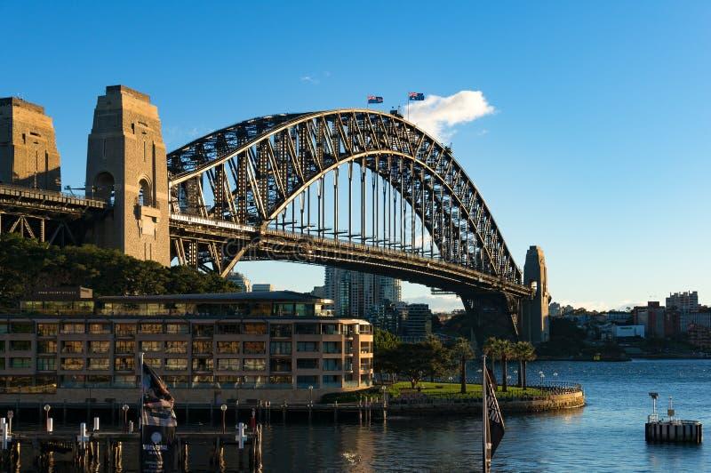 Sydney schronienia most i widoki Północny Sydney fotografia stock