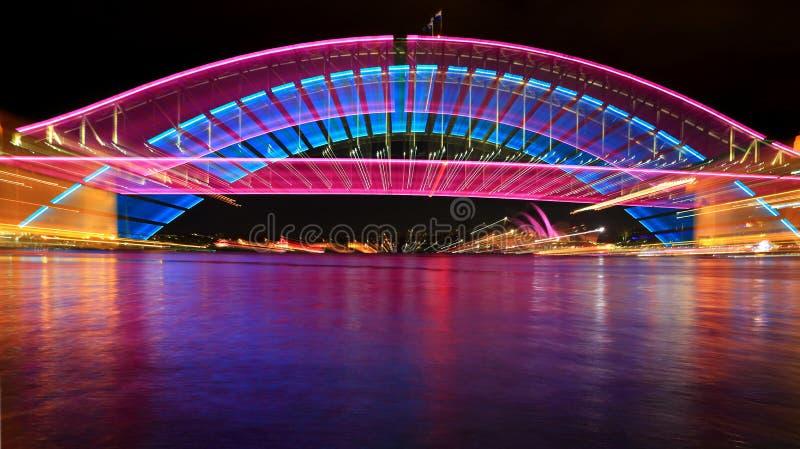 Sydney schronienia mosta zoom obrazy royalty free