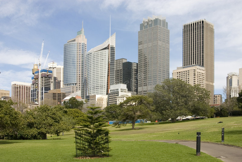 Download Sydney Skyline stock image. Image of skyscrapers, buildings - 2252239