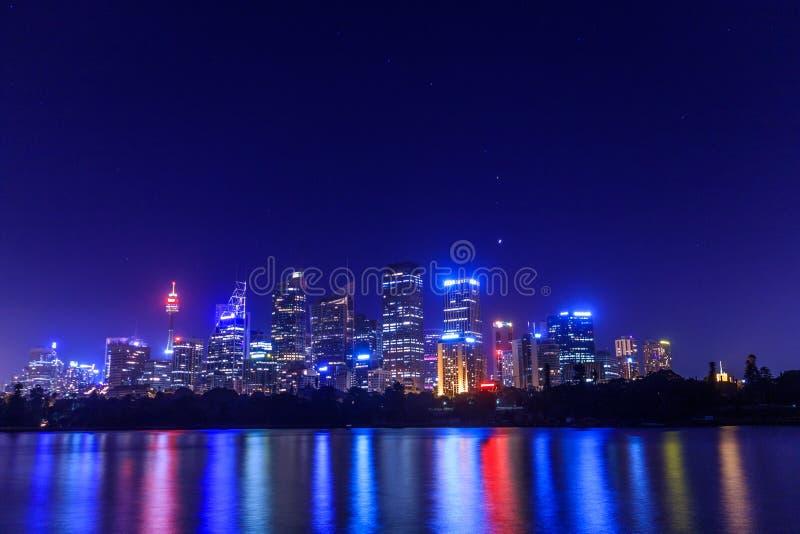 Sydney Skyline arkivbilder