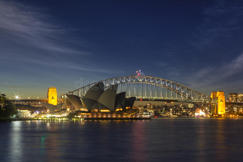 Sydney Sparkle royalty-vrije stock afbeelding