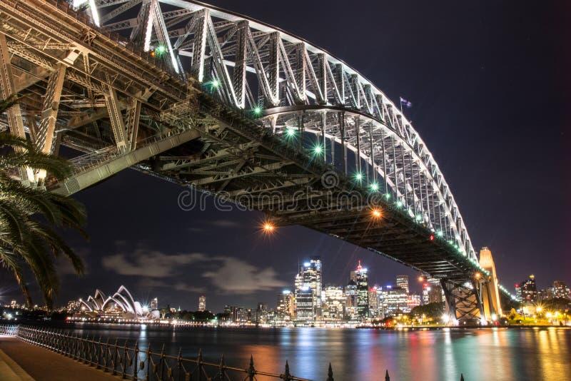 Sydney stadshorisont royaltyfri bild