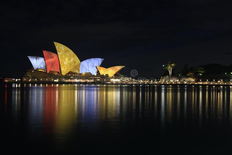 Sydney, teatro da ópera foto de stock royalty free