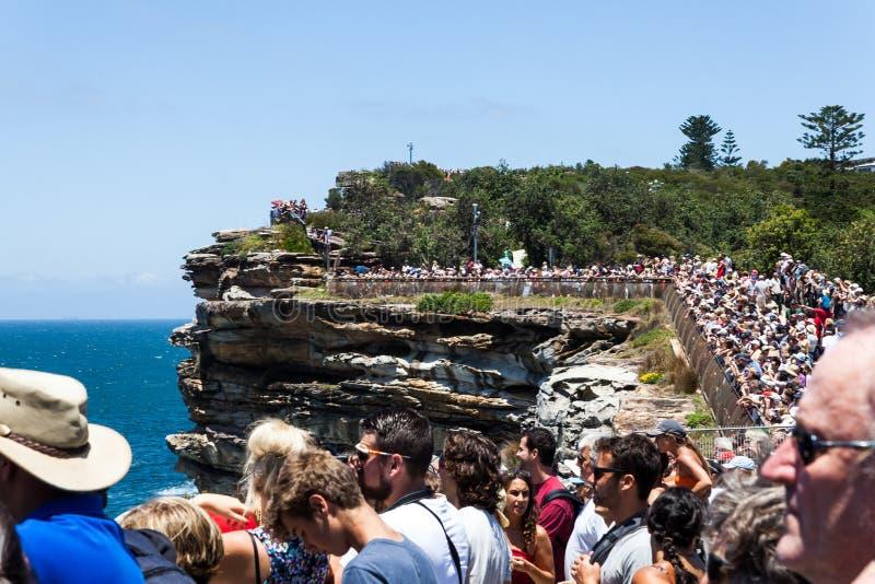 Sydney till den Hobart loppstarten fotografering för bildbyråer