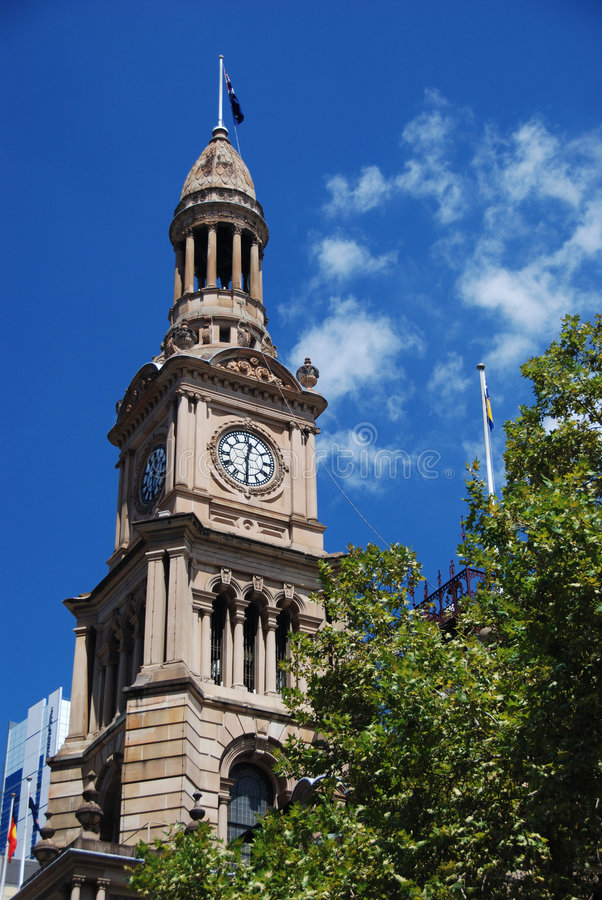 Download Sydney Townhall stock image. Image of australia, townhall - 2086347