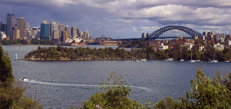 Sydney-Ufergegend lizenzfreie stockbilder