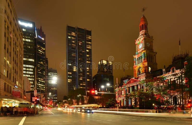 Sydney urząd miasta zdjęcia royalty free