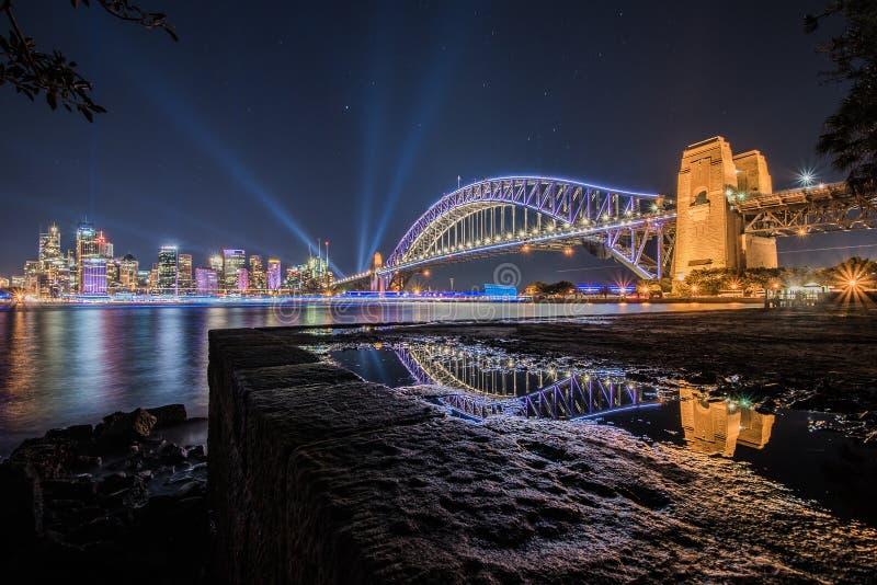 Sydney vívido 2016 fotos de stock royalty free