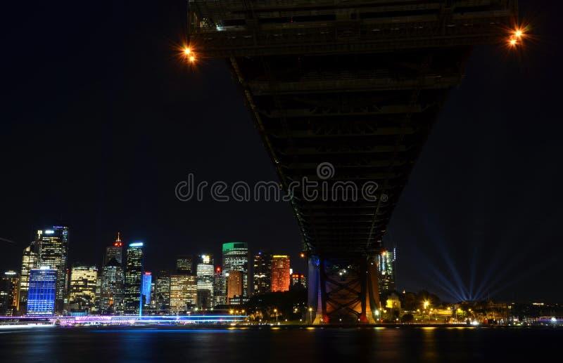 Sydney vívido 2016 fotografia de stock