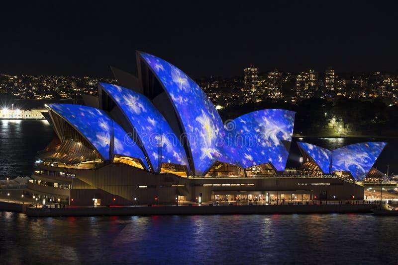 Sydney vívido imagem de stock royalty free