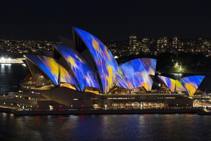 Sydney vívido fotografia de stock