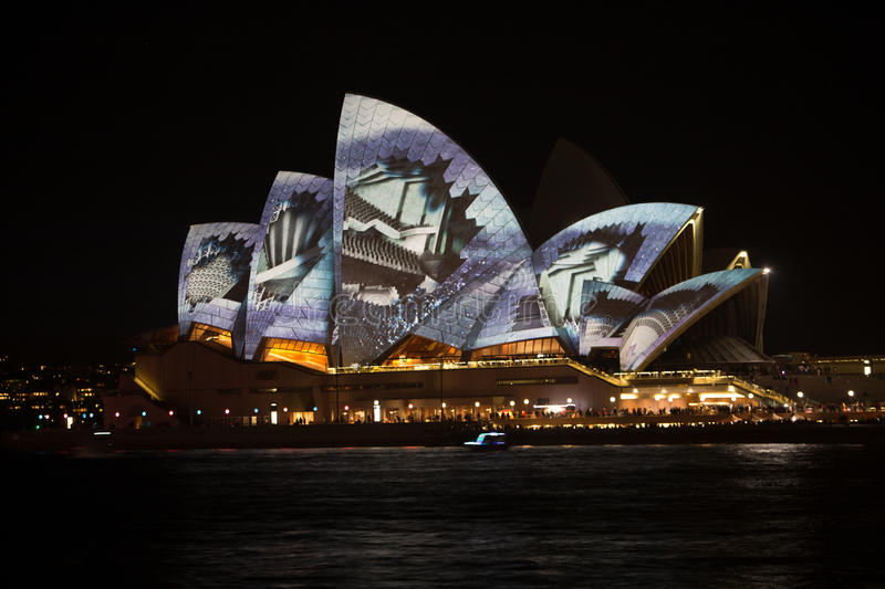 Download Sydney Vivid Light Festival 2014 Opera House Editorial Photography - Image: 43673177