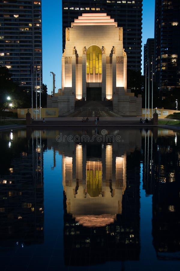 Sydney War Memorial image libre de droits