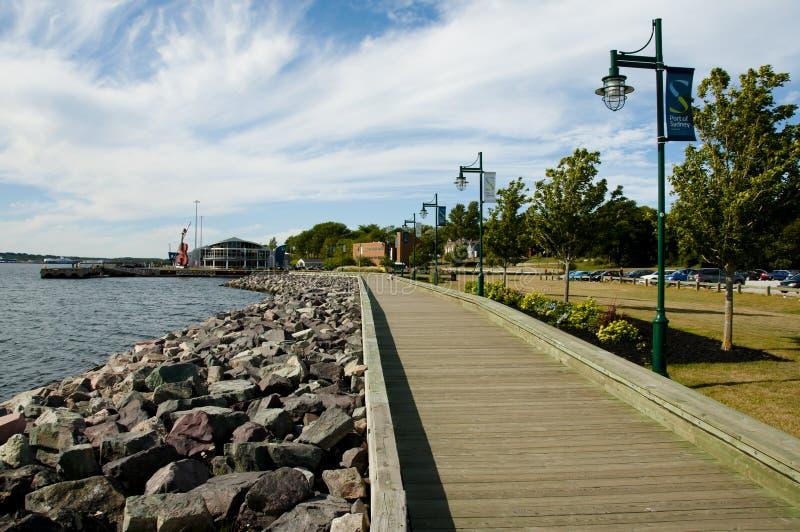 Sydney Waterfront - Nova Scotia - Canada stock images