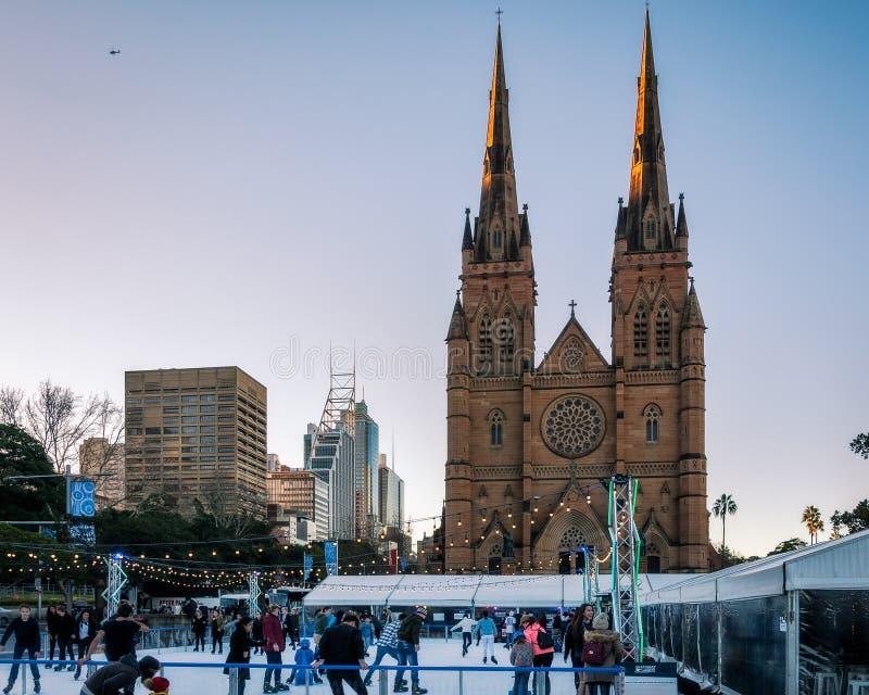 Sydney Winter Festival photographie stock