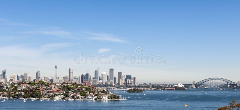 Sydney z Schronienie Mostem zdjęcia stock