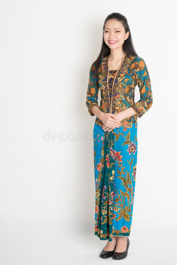 Sydostlig asiatisk flicka arkivbild