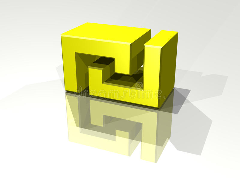 Syklu Symbol Fotografia Stock