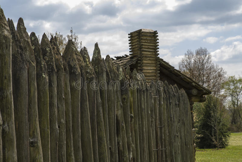 Sykomorstimdelstatspark, Elizabethton, TN arkivfoton
