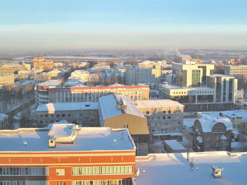 Syktyvkar no inverno fotos de stock