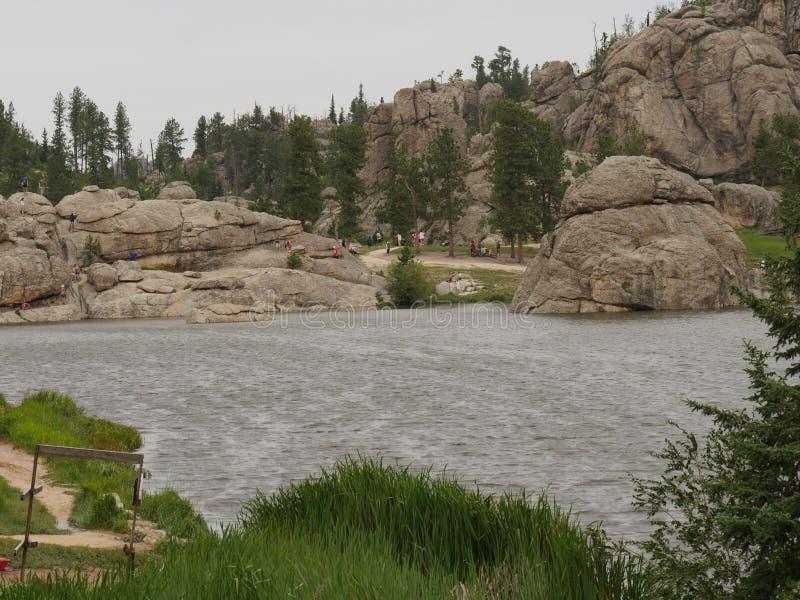 Sylvan Lake, Custer State Park, South Dakota imagens de stock royalty free