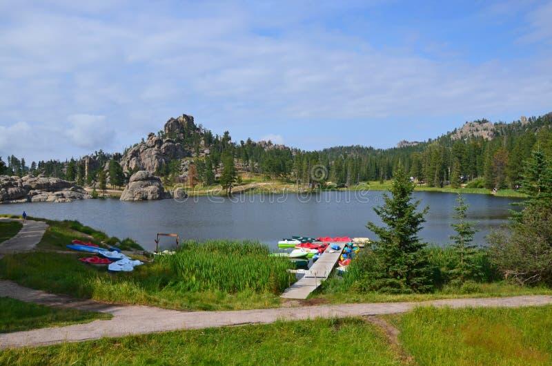 Sylvan Lake-recreatie royalty-vrije stock afbeelding