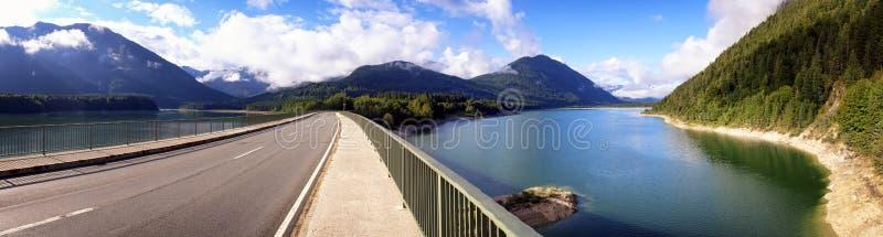 Download Sylvenstein lake stock image. Image of diagonal, autumn - 36564241