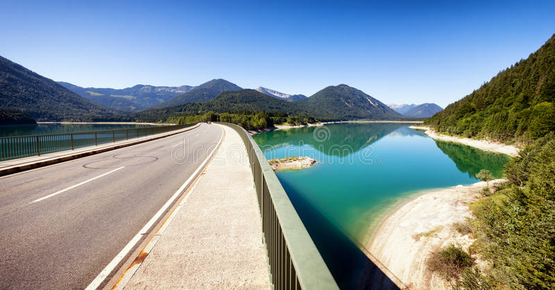Download Sylvenstein Lake Stock Photo - Image: 43029409