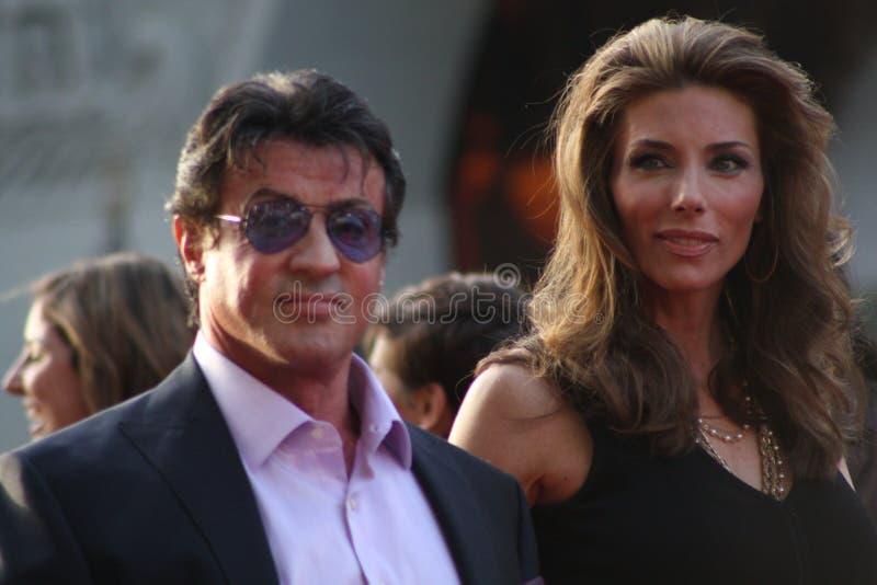 Sylvester Stallone royalty-vrije stock fotografie