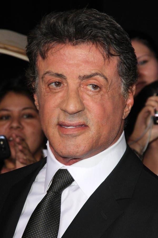 Sylvester Stallone arkivbilder