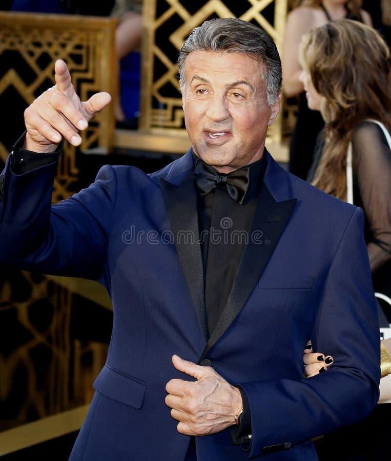 Sylvester Stallone imagem de stock