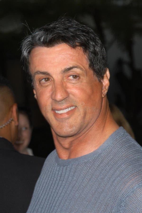 Sylvester Stallone stock foto's