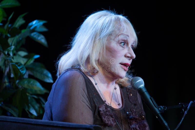 Sylvia Browne fotos de stock
