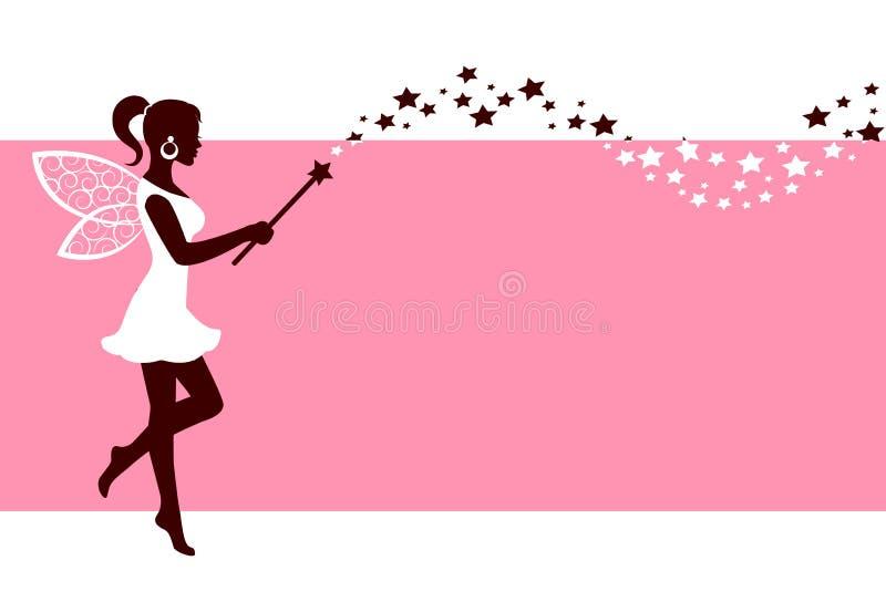 Download Sylwetka Czarodziejka Z Magiczną Różdżką Ilustracja Wektor - Ilustracja złożonej z komputer, ręka: 57657214