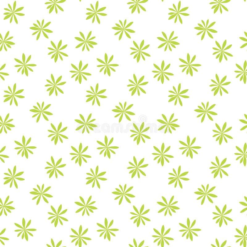 Sylwetka drzewka palmowe na Bia?ym tle bezszwowy wzoru ilustracja ilustracji