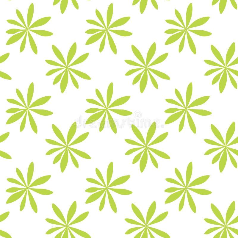 Sylwetka drzewka palmowe na Bia?ym tle bezszwowy wzoru r?wnie? zwr?ci? corel ilustracji wektora ilustracja wektor