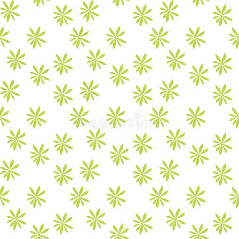 Sylwetka drzewka palmowe na Bia?ym tle bezszwowy wzoru r?wnie? zwr?ci? corel ilustracji wektora royalty ilustracja