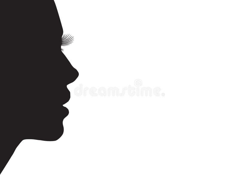 sylwetka kobiecej ilustracji