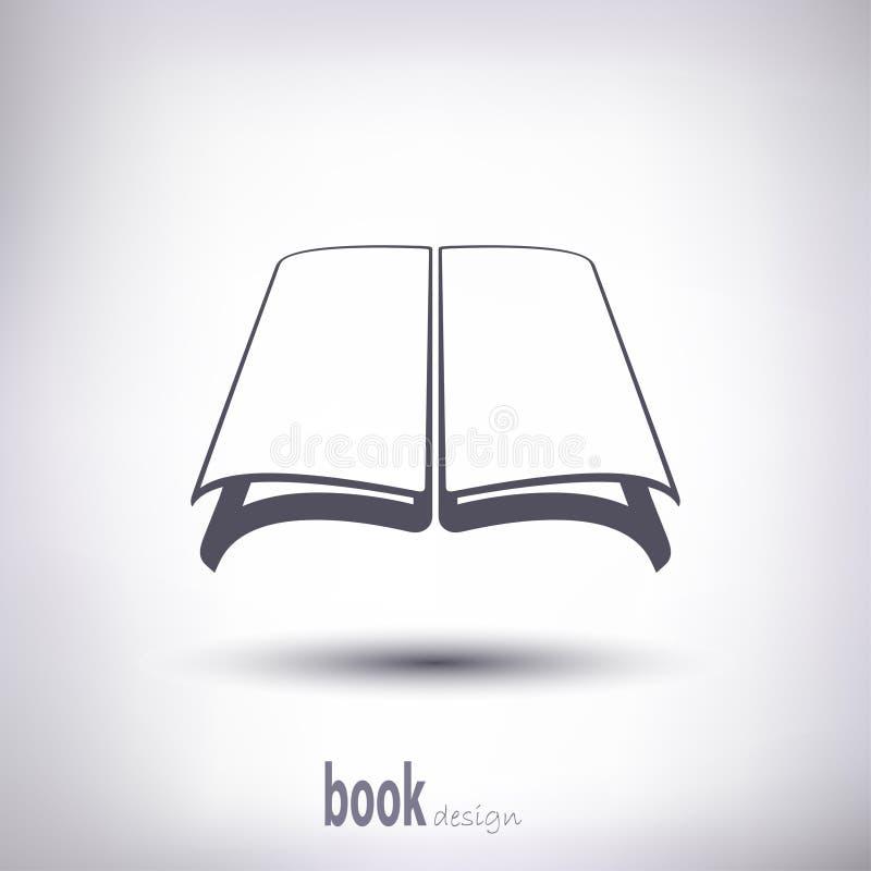 Sylwetka książkowy otwiera obrazy stock