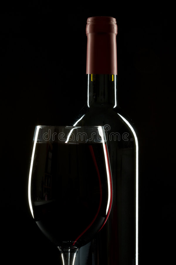Symétrie de vin photos libres de droits