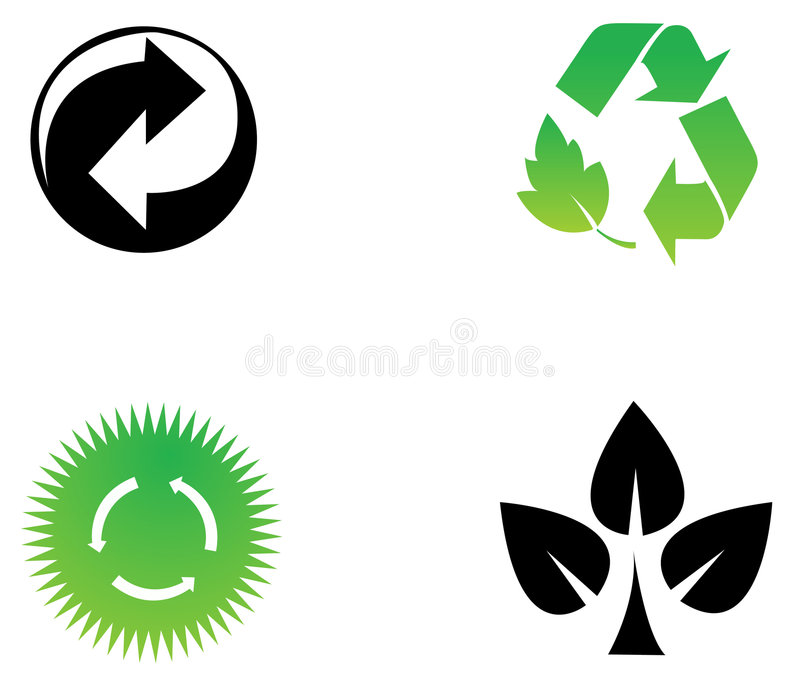 Sym environnemental d'économie illustration libre de droits