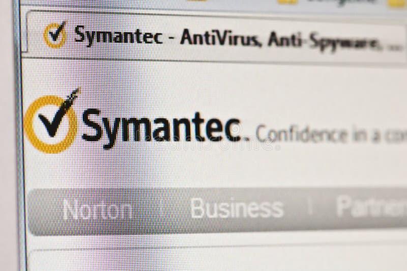 Symantec imagens de stock
